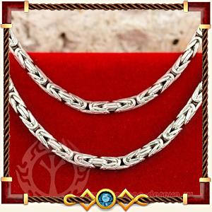 Цепочки браслеты и шнуры из серебра, золота и кожи в Калуге